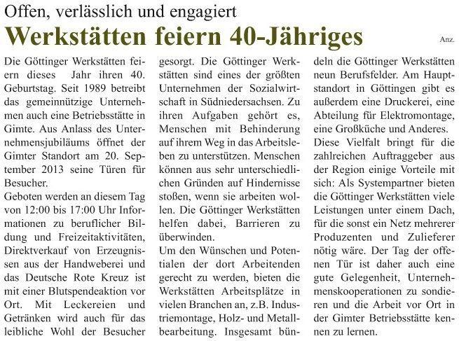 2013-09-15 TdoT HMÜ aktuell