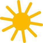 Sonne klein