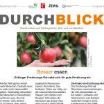 Durchblick September-Ausgabe