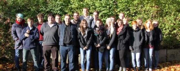 Unterstützung durch junge Freiwillige