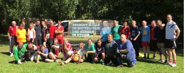 Pressemitteilung: 4. inklusives Fußballcamp
