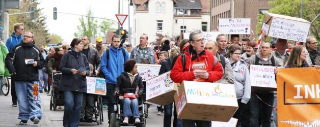 Fotos vom Aktionstag